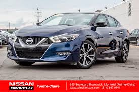 nissan canada payment calculator used 2016 nissan maxima sl for sale in montreal p7227 spinelli