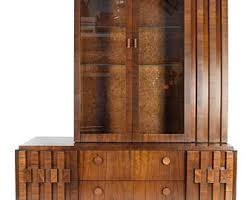 Walnut Cabinet Lane Cabinet Etsy