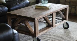 pallet coffee table with wheels tutorial 99 pallets