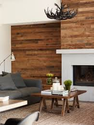 Wood Wall Living Room by Wood Walls The Common Table