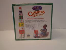 bible for toddlers christmas story blocks stackable nip learning