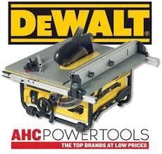 dewalt jobsite table saw accessories dewalt dw745 10 254mm compact job site table saw 240v ebay