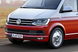 new volkswagen bus this is vw u0027s all new t6 transporter van