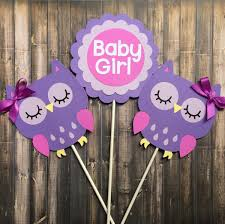 purple owl baby shower decorations owl centerpiece owl themed centerpiece baby girl purple owl