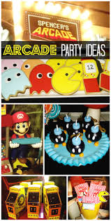 Halloween Birthday Party Themes by Best 25 Video Game Party Ideas Only On Pinterest Mario Party
