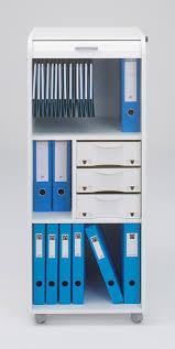 bureau mobile caisson de bureau mobile à roulettes design blanc gazetta