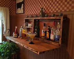 items similar to oakly corner liquor cabinet with corner bar