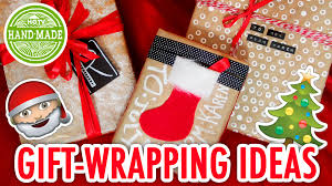 3 easy ways to wrap gifts christmas craft supply swap with sea