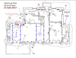electrical floor plan updated electrical plans our big italian adventure