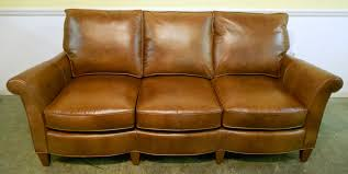 Light Colored Leather Sofa Furniture Astounding Small Brown Leather Sofa With Comfortable