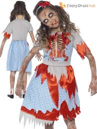 girls zombie princess costume horror fairytale halloween fancy