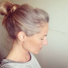 how to grow in gray hair with highlights 86 best go gray images on pinterest going gray grey hair and
