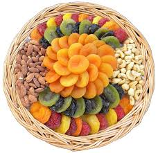 fruit and nut gift baskets assorted dried fruit nut tray 48 oz shiva sympathy and