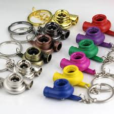 color key rings images Hot sale spinning turbo keychain turbine turbocharger keychain key jpg
