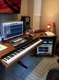 studio keyboard desk d desk u2014 hadrien de souza design