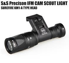 Streamlight Pistol Light Tactical Ifm Cam Scout Light Gun Light Hard Anodizing Aluminum Qd