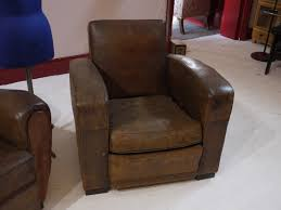 Vintage Leather Club Chair Vintage 1920s French Leather Club Chair Eras Of Style Eras Of