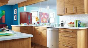 modern kitchen look modern kitchen remodel with bamboo cabinetry masterbrand
