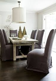 Beautiful Linen Dining Room Chair Slipcovers Ideas Home Design - Dining room chair slip covers