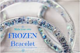bracelet craft diy images Diy frozen glitter bracelets babysitting academy jpg