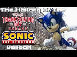 macy s thanksgiving day parade 1996 sonic