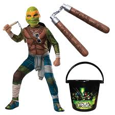 Michelangelo Ninja Turtle Halloween Costume Tmnt Teenage Mutant Ninja Turtles Halloween Costumes Halloween