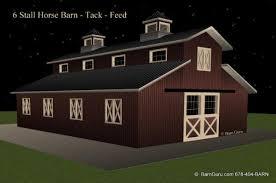 barn plans 6 stall horse barn design floor plan