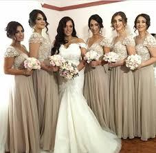 grey bridesmaid dresses 2017 lace arabic a line silver grey bridesmaid dresses cap sleeves
