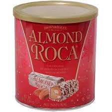 almond roca holiday buttercrunch toffee with almonds 10 oz