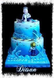 boy sailor 1 year old cake by ditsan cakesdecor