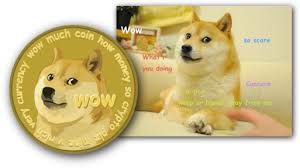 Dogecoin Meme - wow much coin how money so crypto plz mine v rich very currency