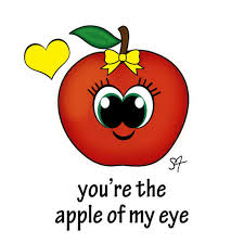 apple puns three styles apple y after apple of my eye