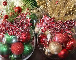 Table Centerpieces For Christmas by Christmas Centerpiece Etsy