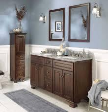 Wood Bathroom Cabinets Bathroom Cabinets Dark Wood My Web Value