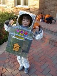 Robot Costume Halloween Making Robot Costume Robot Costumes Robot Costumes