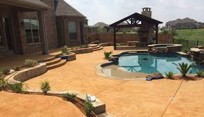 projects concrete pool decks fort worth