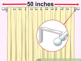 2 Inch Drapery Rod How To Choose A Curtain Rod For Your Window Decor 9 Steps
