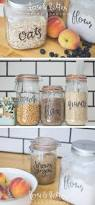 Kitchen Canister Labels 150 Best Kitchen Style Images On Pinterest Jar Labels