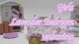 Girls Bedroom Sets Calico Critters Girls Lavender Bedroom Set Youtube