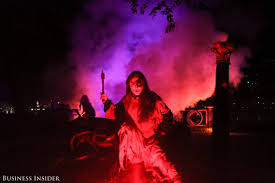 new york city haunted house halloween what the haunted hayride is like business insider