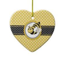 cute bumble bee ceramic ornament bumble bees and bees