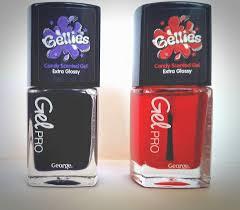 gellies scented gel pro nail varnish u0027 by george asda