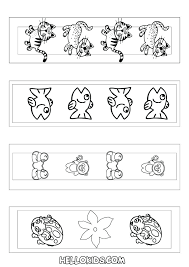printable coloring pages of cute baby animals dragoart pictures