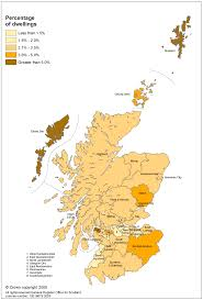 Map Of Glasgow Scotland Estimates Of Households And Dwellings In Scotland 2008