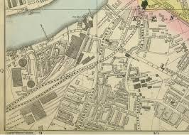 Surrey England Map by Vauxhall Kennington U0026 The Oval Maps