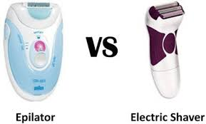 electric shaver is better than a razor for in grown hair difference between epilator electric shaver