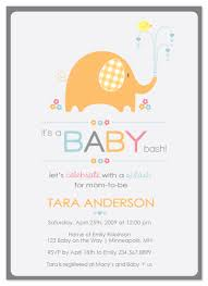 baby shower invitations baby elephant shower at minted