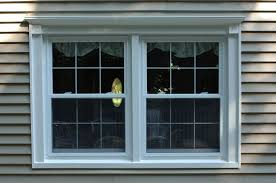 decorating chic wite double hung window by reliabilt windows for