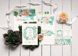 Succulent Wedding Invitations 34 Best Kelsea Wedding Invite Images On Pinterest Succulent