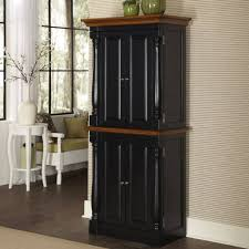 kitchen cottage oak free standing kitchen pantry by home styles